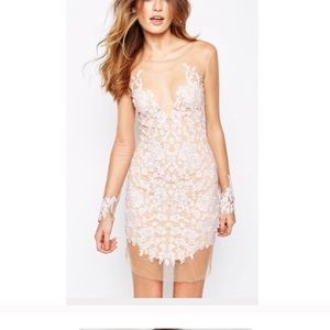 For love and lemons white short Luau dress